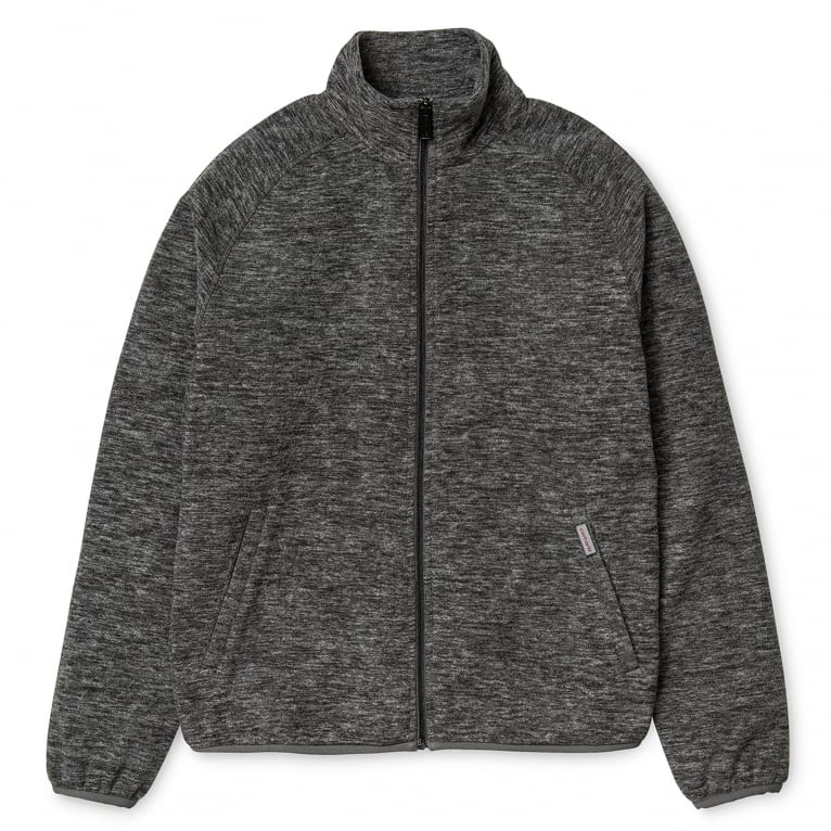 Carhartt WIP Menson Fleece Jacket - Dark Grey Heather