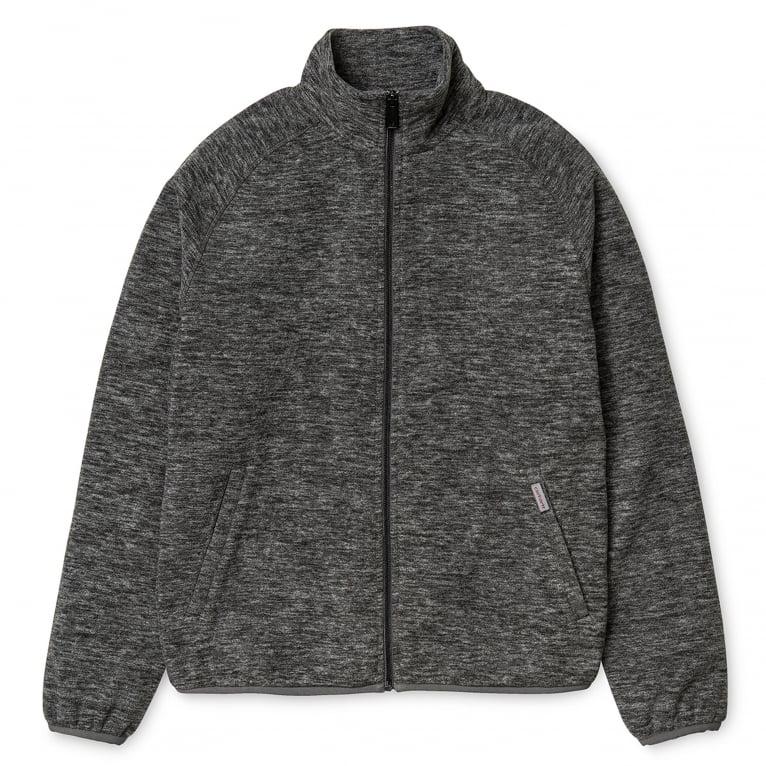 Carhartt WIP Menson Fleece Jacket - Dark Grey Heather