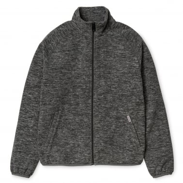 Menson Fleece Jacket - Dark Grey Heather
