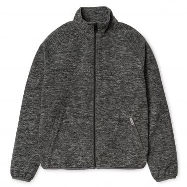 Menson Fleece Jacket - Dark Grey Heather