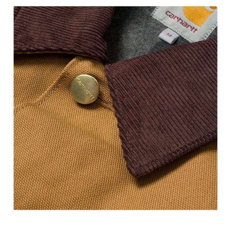 Carhartt WIP Michigan Chore Coat - Hamilton Brown