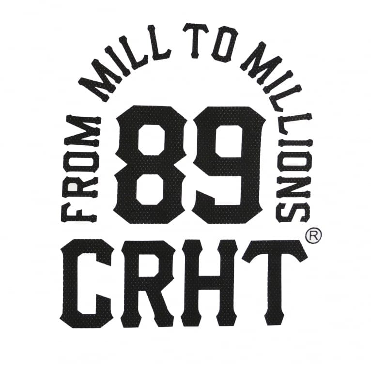 Carhartt WIP Mill 89 Tee - White/Black