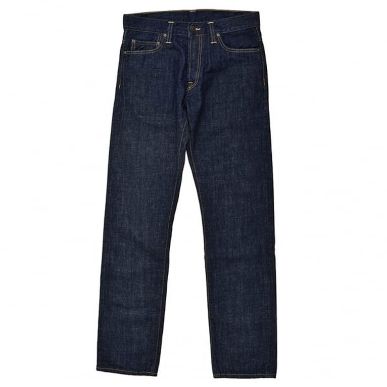 Carhartt WIP Oakland Pant - Blue Rinsed