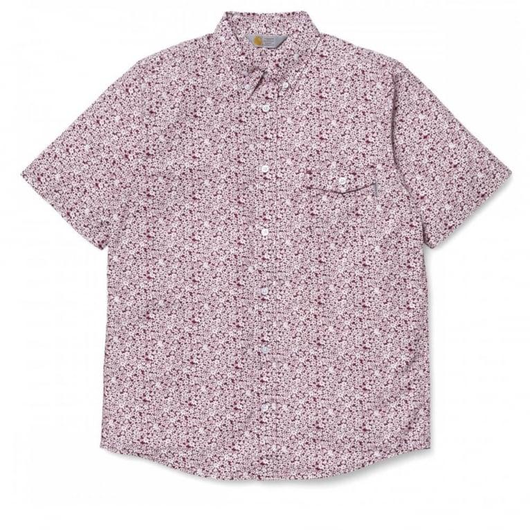 Carhartt WIP Orchid Short Sleeve Shirt - Varnish