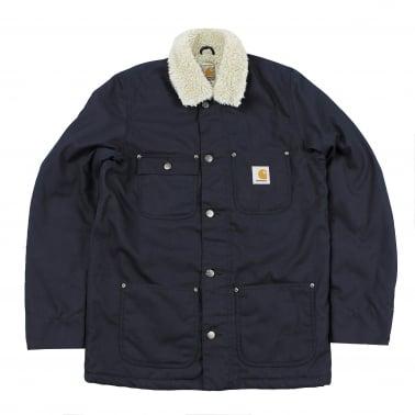 Pheonix Coat - Navy Rigid