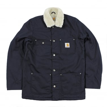 Pheonix Coat - Navy Rigid