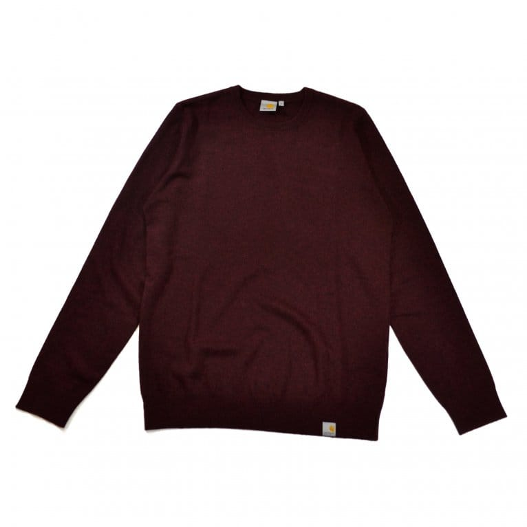 Carhartt WIP Playoff Sweater - Damson Heather