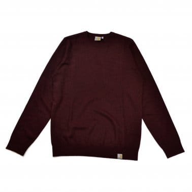Playoff Sweater - Damson Heather