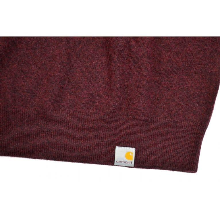 Carhartt WIP Playoff Sweater - Damson Heather