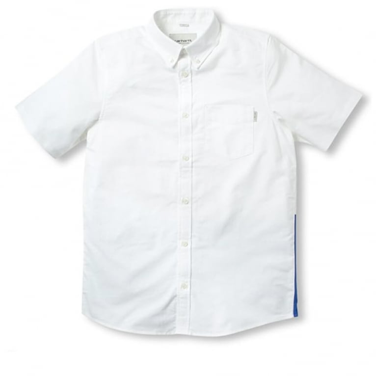 Carhartt WIP Porter Shirt - White/Resolution