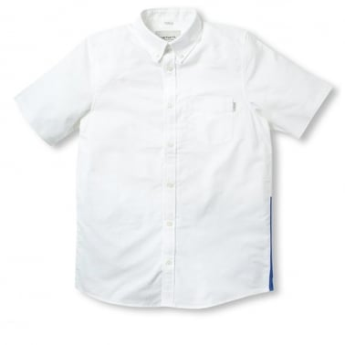 Porter Shirt - White/Resolution