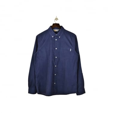 Prescott Shirt - Blue Rinsed