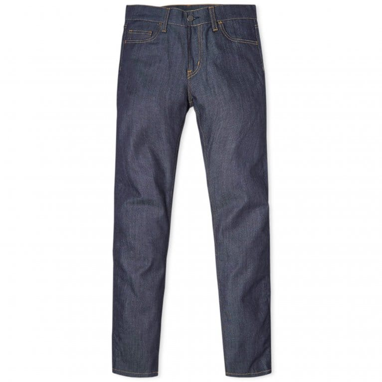 Carhartt WIP Rebel Pant (Colfax Denim) - Blue Rinsed