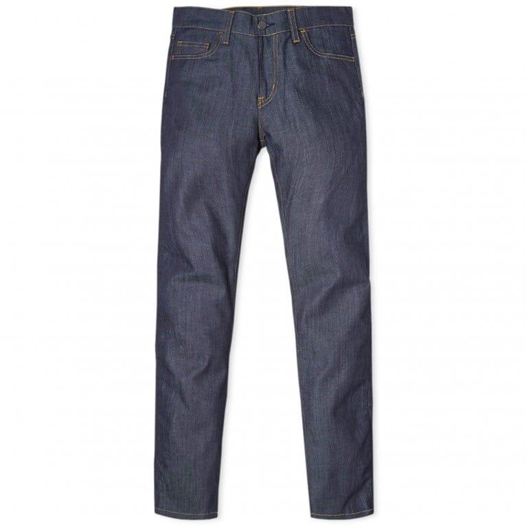 Carhartt WIP Rebel Pant (Colfax Denim) - Blue Rinsed
