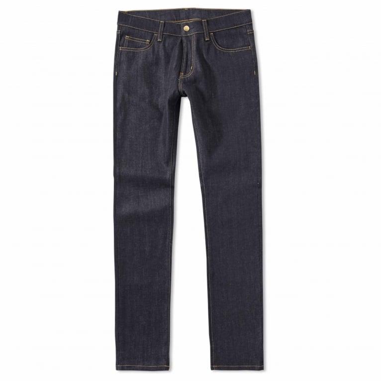 Carhartt WIP Rebel Pant (Spicer Denim) - Blue Rigid