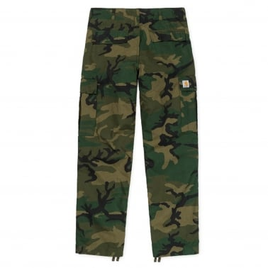 Regular Cargo Pant - Combat Green