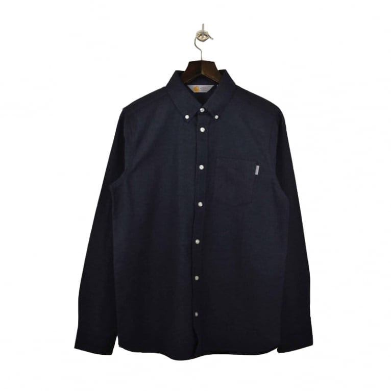 Carhartt WIP Rushmore Shirt Navy Heather