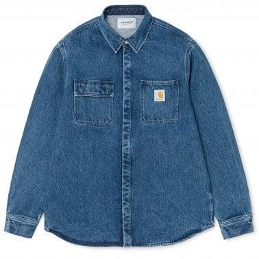 34e59b64e6 Salinac Shirt - Blue Stonewash. Carhartt WIP ...