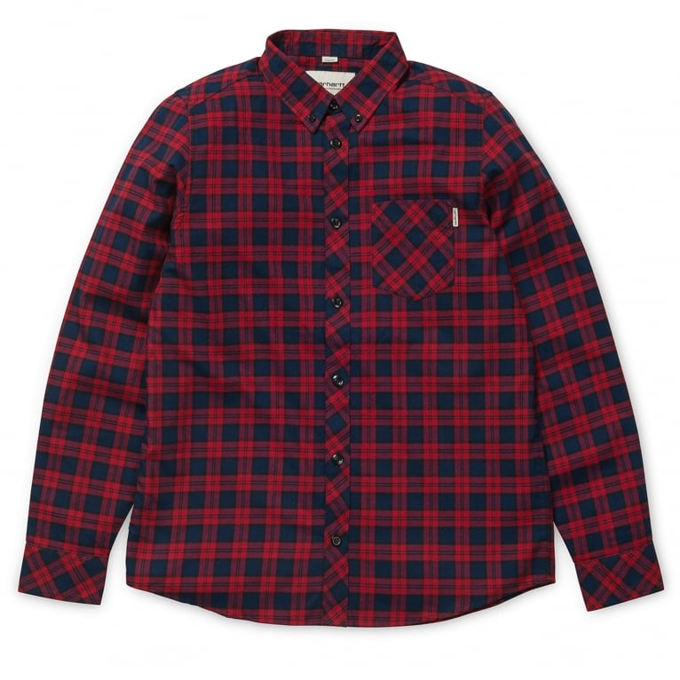 Carhartt WIP Shawn Long Sleeve Shirt