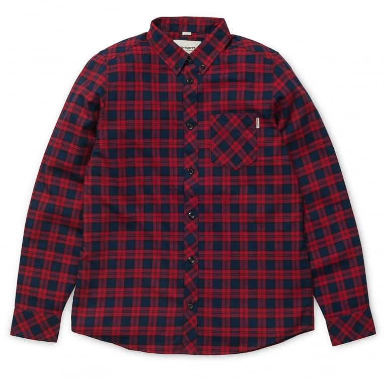 Carhartt WIP Shawn Long Sleeve Shirt