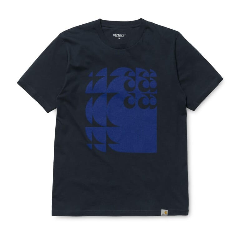 Carhartt WIP Shifted C Tee - Navy