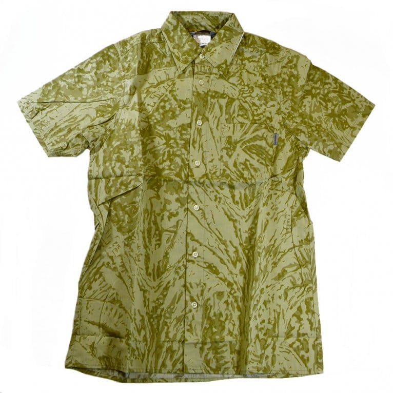 Carhartt WIP Short Sleeve Camo Print Shirt