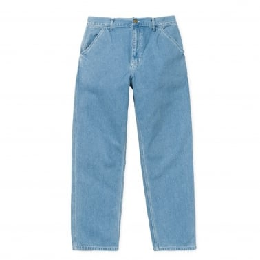 Simple Pant - Blue Stone Bleached