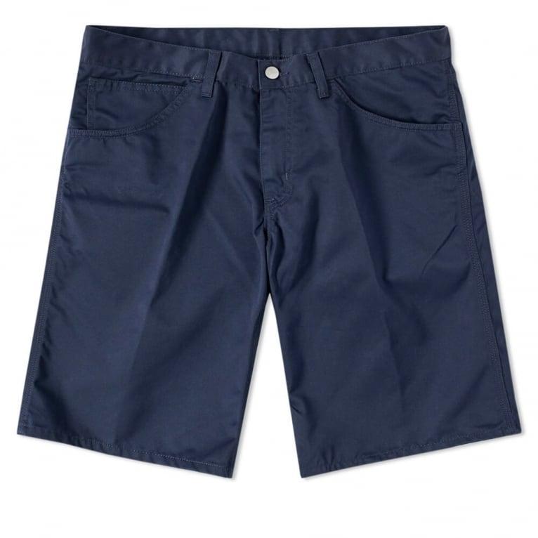 Carhartt WIP Skill Short - Duke Blue