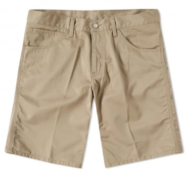 Skill Short - Leather (beige)