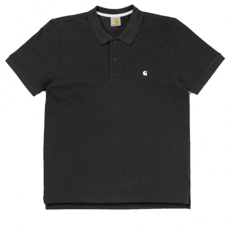 Carhartt WIP Slim Fit Polo - Black