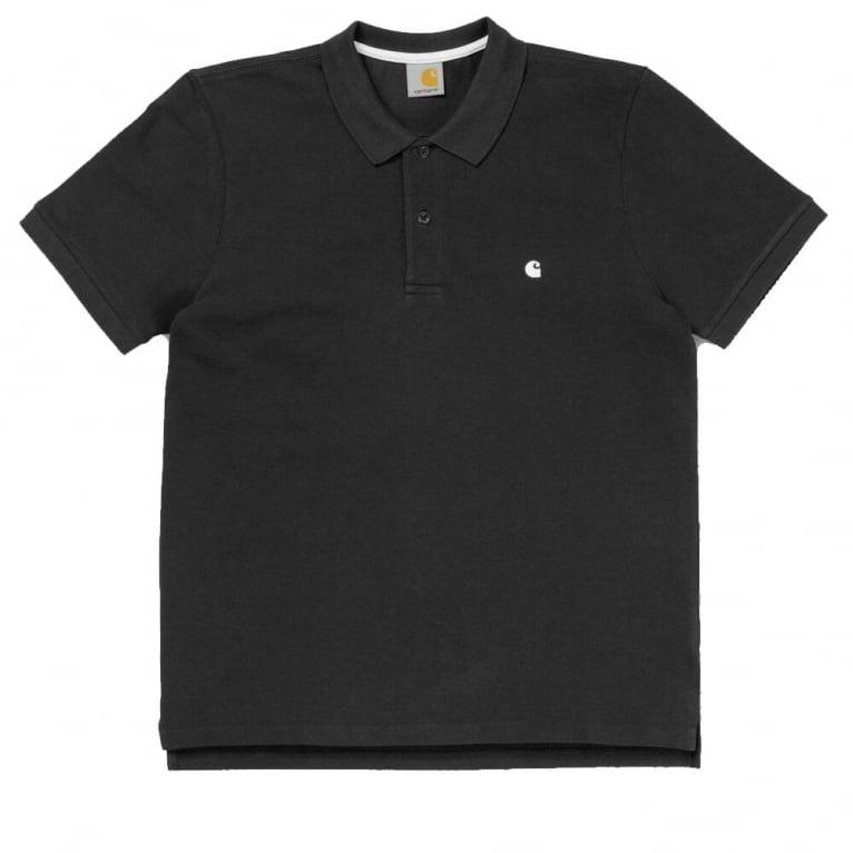 Carhartt WIP Slim Fit Polo - Black