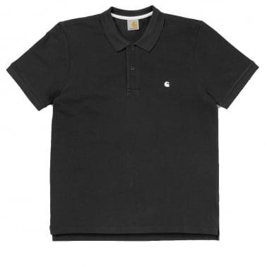 Slim Fit Polo - Black