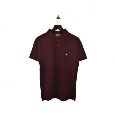 Slim Fit Polo - Cranberry