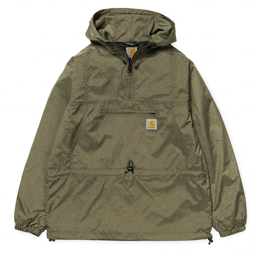 sleek in stock sports shoes Carhartt WIP Spinner Pullover Jacket - Leaf