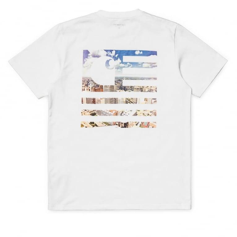 Carhartt WIP State Detroit City T-Shirt - White
