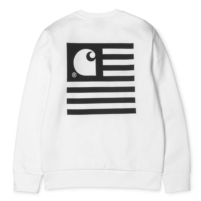 Carhartt WIP State Flag Sweatshirt - Black