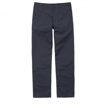 Station Pant - Navy Trousers