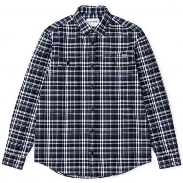 Stinson Shirt - Check Blue