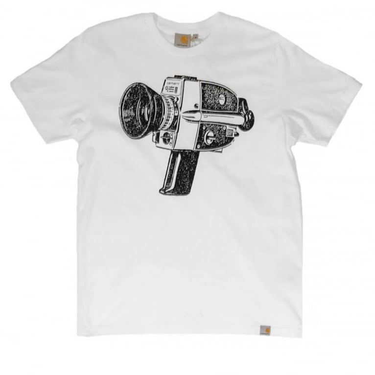 Carhartt WIP Super 89 T-shirt - White/Black