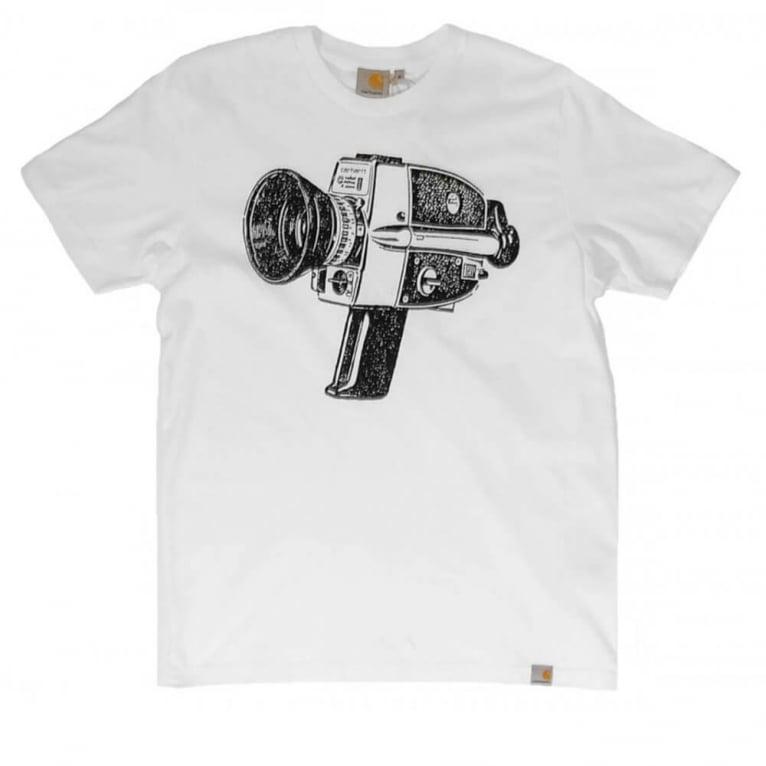 Carhartt WIP Super 89 T-shirt - White/Black