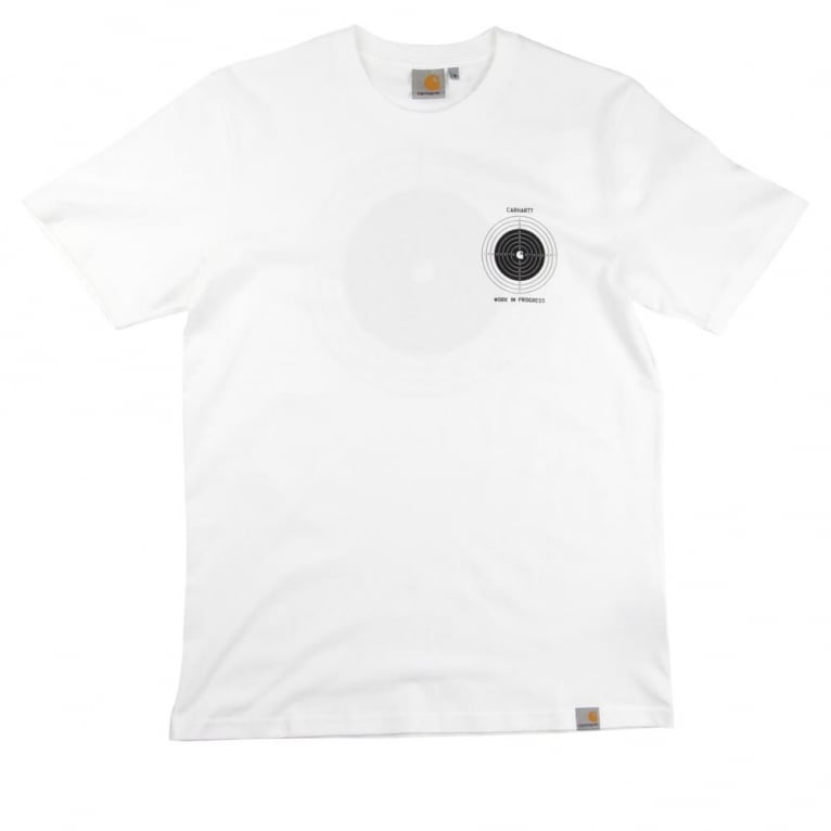 Carhartt WIP Target T-shirt - White/Black