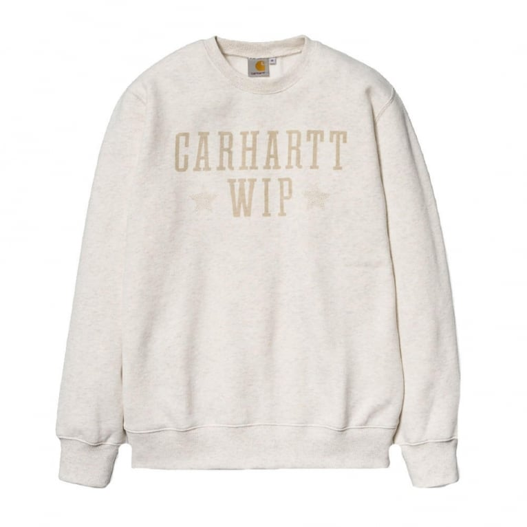 Carhartt WIP Team Stars Sweater - Cockle Heather