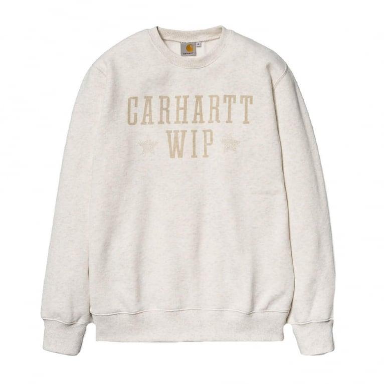 Carhartt WIP Team Stars Sweater - Cockle Heather