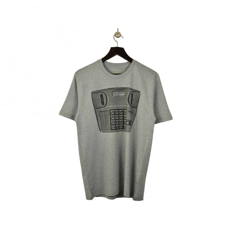 Carhartt WIP Temporarily Tee - Grey/Black