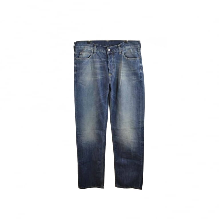 Carhartt WIP Texas Claremont Jeans - Blue Surf