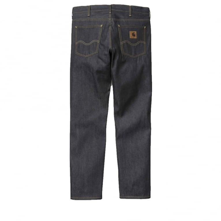 Carhartt WIP Texas Claremont Pant - Blue Rigid