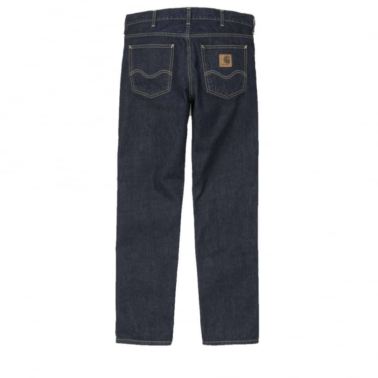 Carhartt WIP Texas Claremont Pant - Blue Rinsed