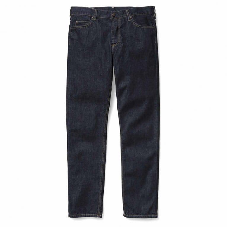 Carhartt WIP Texas Hanford II Jeans - Blue Rinsed