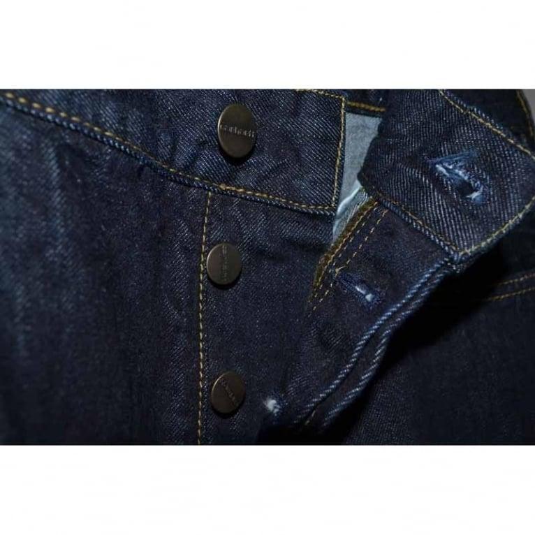 Carhartt WIP Texas Hanford Jeans - Blue Rinsed