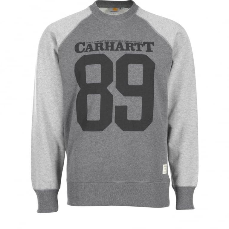 Carhartt WIP Timber Crewneck Sweatshirt - Dark Grey